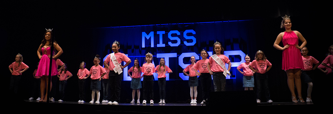 Miss Clatsop County Princesses perform during the 2016 pageant