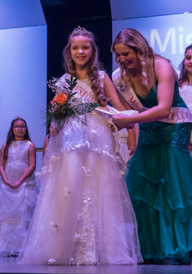 Miss Clatsop County's Princess 2019