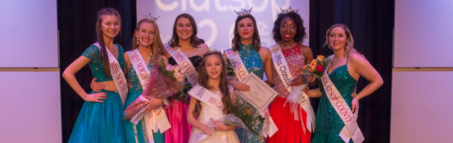 2019 Miss Clatsop County Scholarship Pageant Titleholders